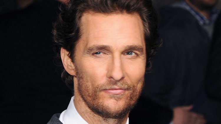 "LONDON, ENGLAND - OCTOBER 29: Matthew McConaughey attends the European premiere of ""Interstellar"" at Odeon Leicester Square on October 29, 2014 in London, England. (Photo by Stuart C. Wilson/Getty Images)"